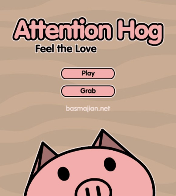 Attention Hog by Chris Basmajian (USA)